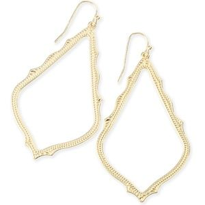 NEW Kendra Scott Sophee Drop Earrings Gold